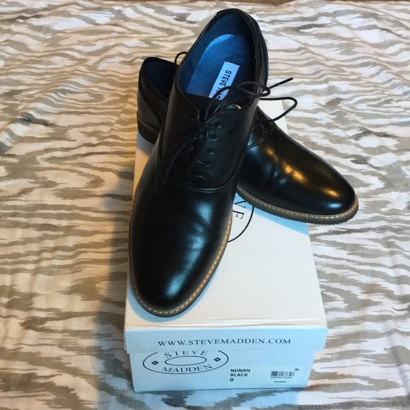 3f11c9817a7 Men s Steve Madden Nunan Oxford Shoes Size 9. M 5b4aacb081bbc8632ef5ef05